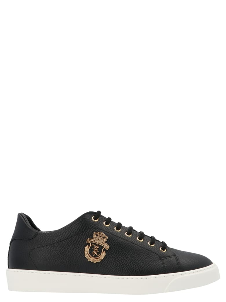 Billionaire 'crest' Shoes - Black