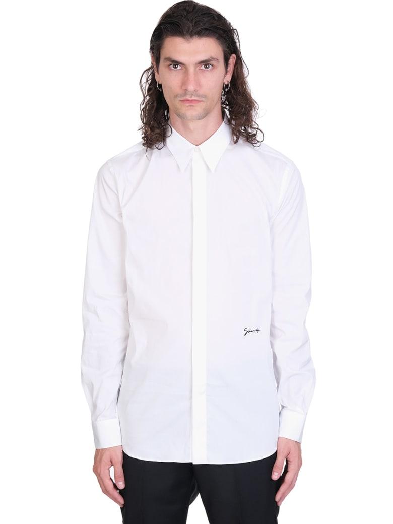 Givenchy Shirt In White Cotton - white