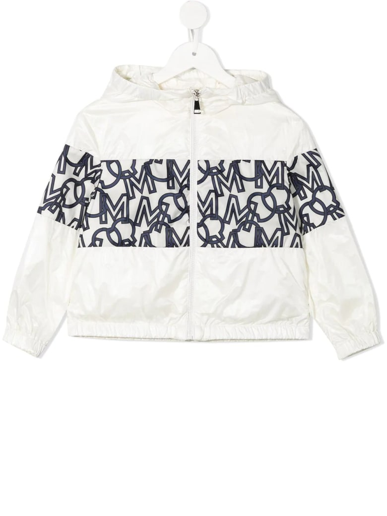Moncler Kid White Vilna Jacket