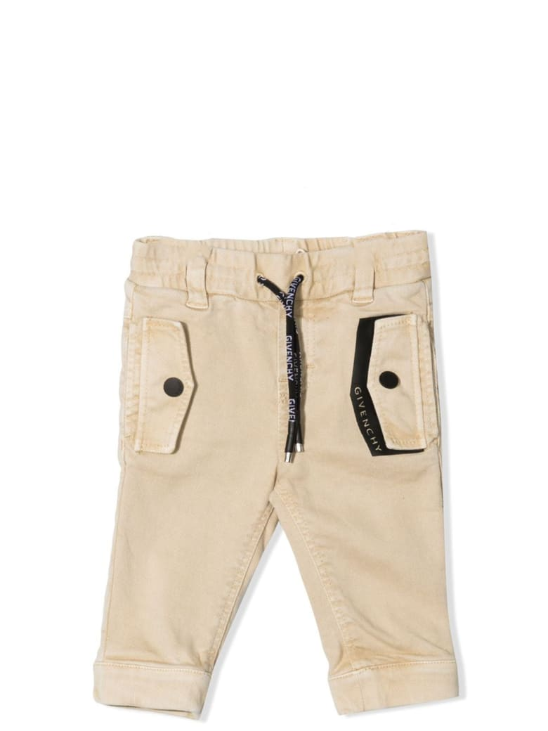 Givenchy Slim Trousers With Drawstring - Begie