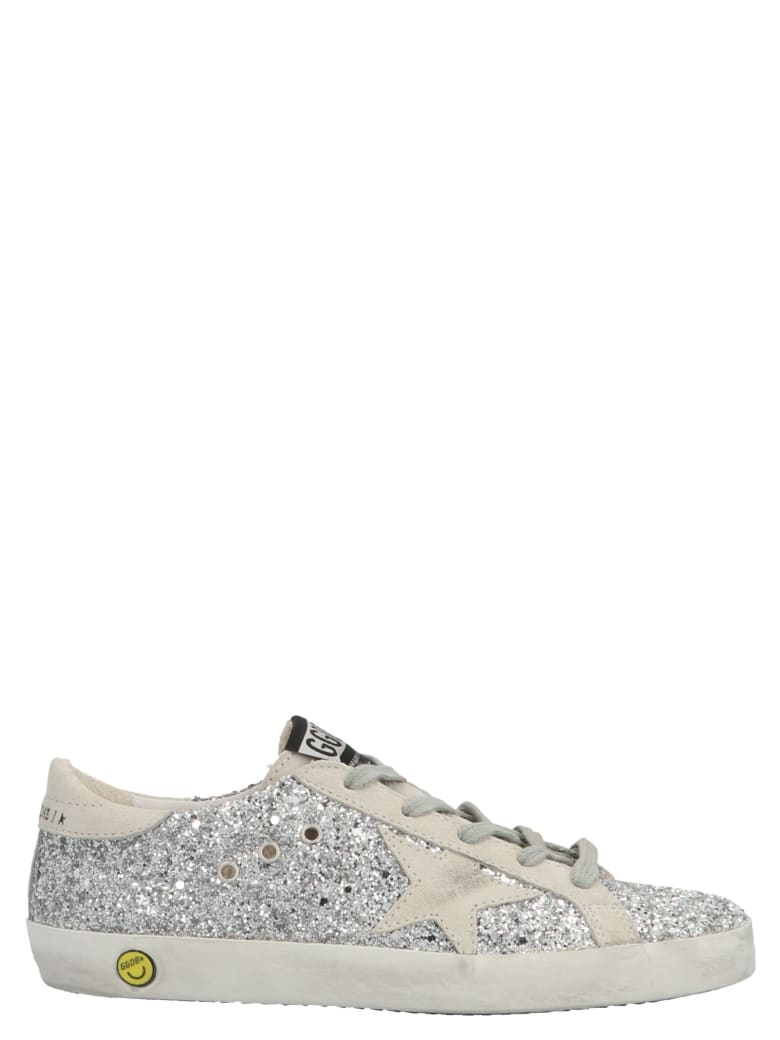 Golden Goose 'superstar' Shoes - Silver/ice