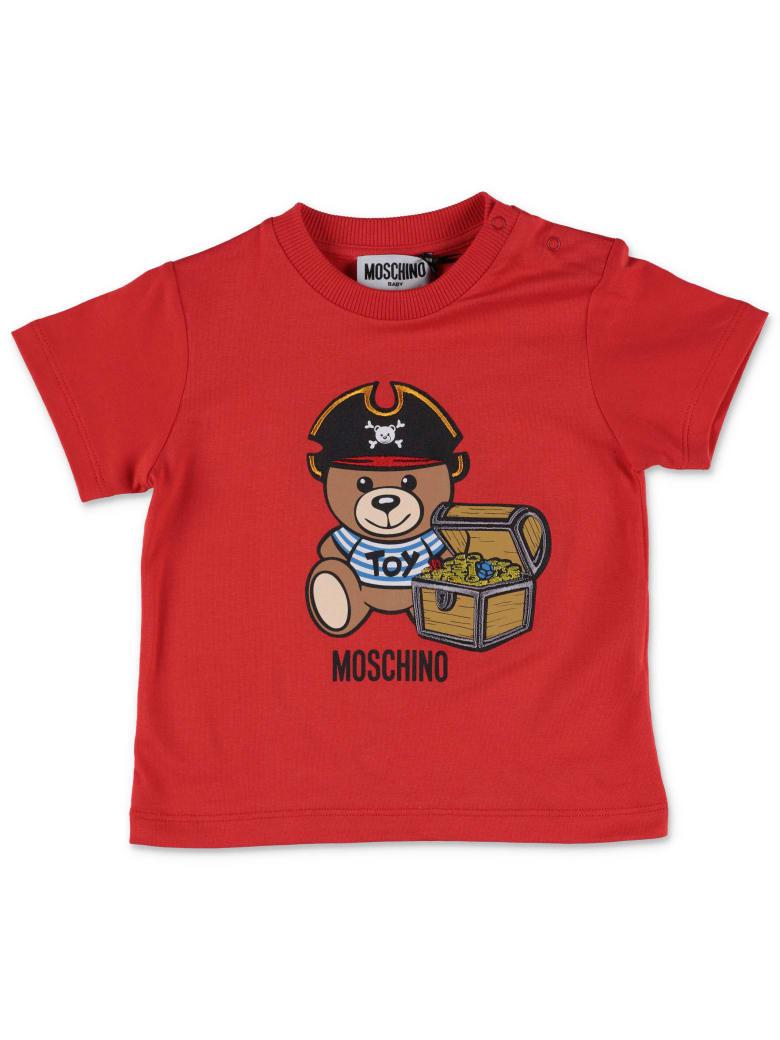Moschino T-shirt - Poppy Red