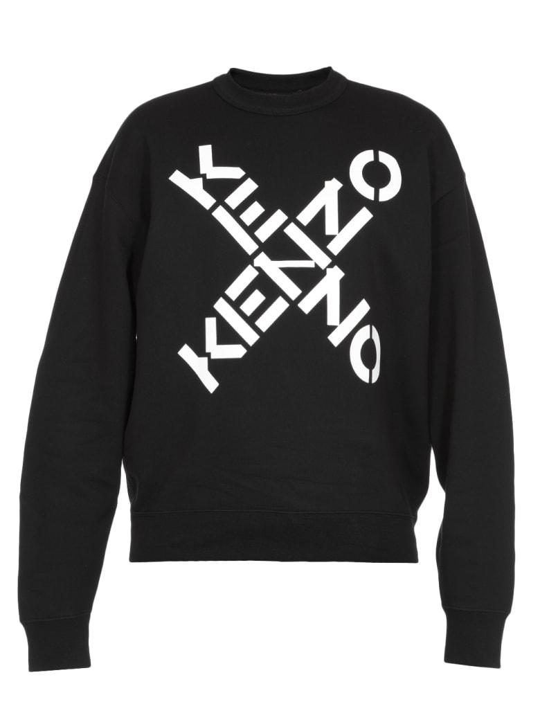 Kenzo Logo Sweatshirt - Nero