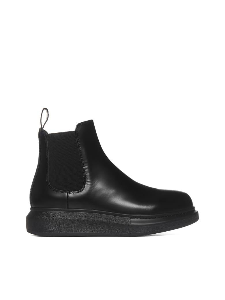 Alexander McQueen Boots - Black black black