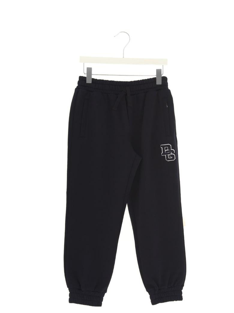 Dolce & Gabbana 'back To School' Sweatpants - Black