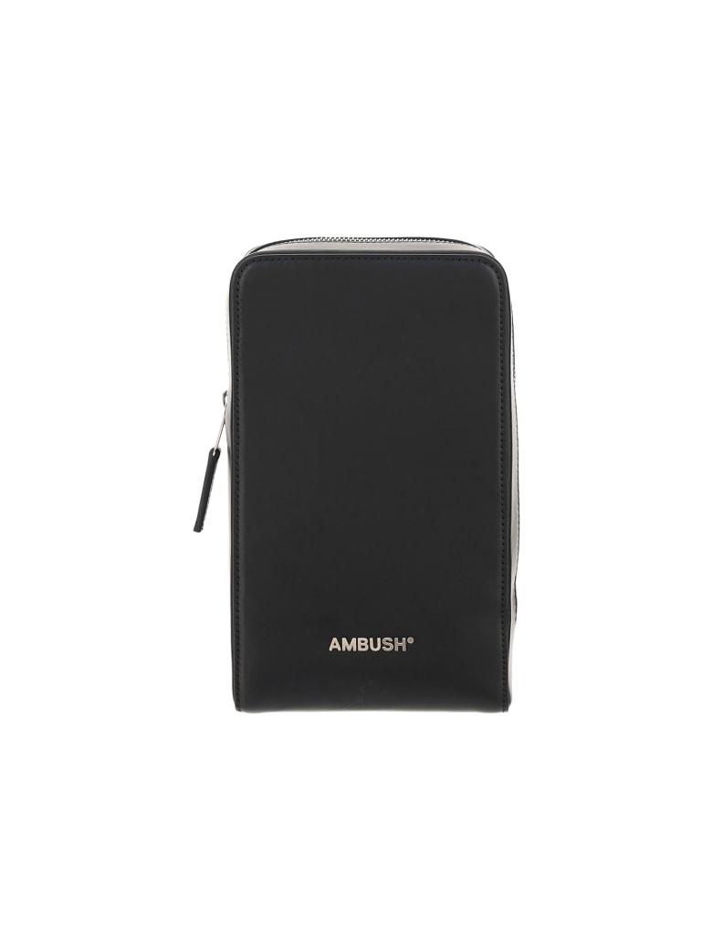 AMBUSH Crossbody Bag - Black silver