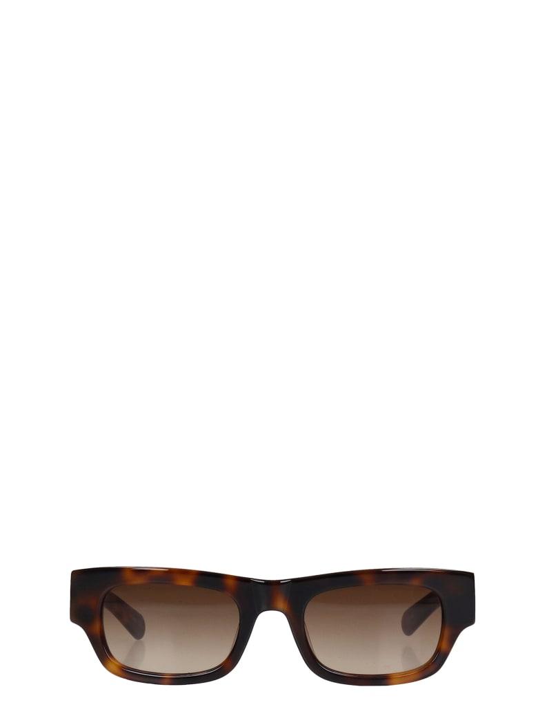 Flatlist Frankie Sunglasses In Brown Pvc - brown