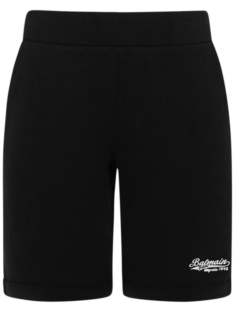 Balmain Paris Kids Shorts - Black