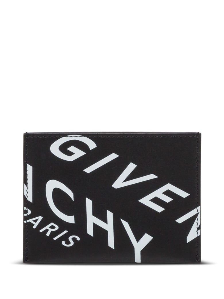 Givenchy Fragment Card Holder - Black