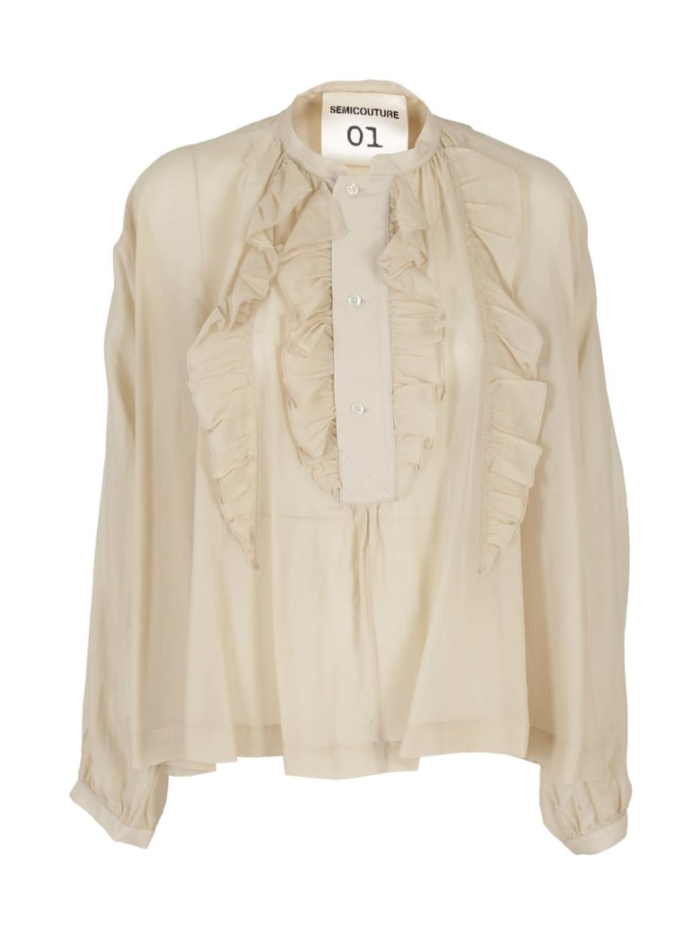 Semi-Couture. Shirt - Beige