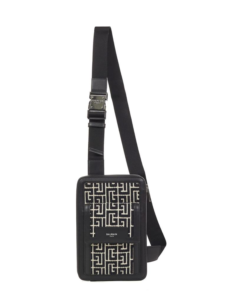 Balmain Belt Bag Balmain Paris - Black
