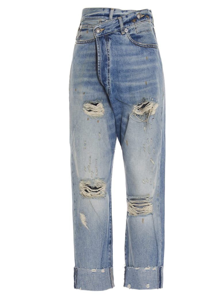 R13 'cross Over' Jeans - Emory