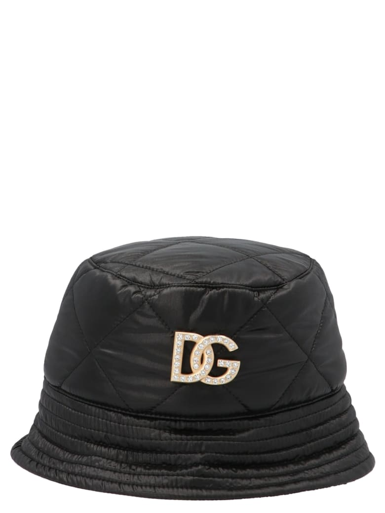 Dolce & Gabbana 'dg' Hat - Black