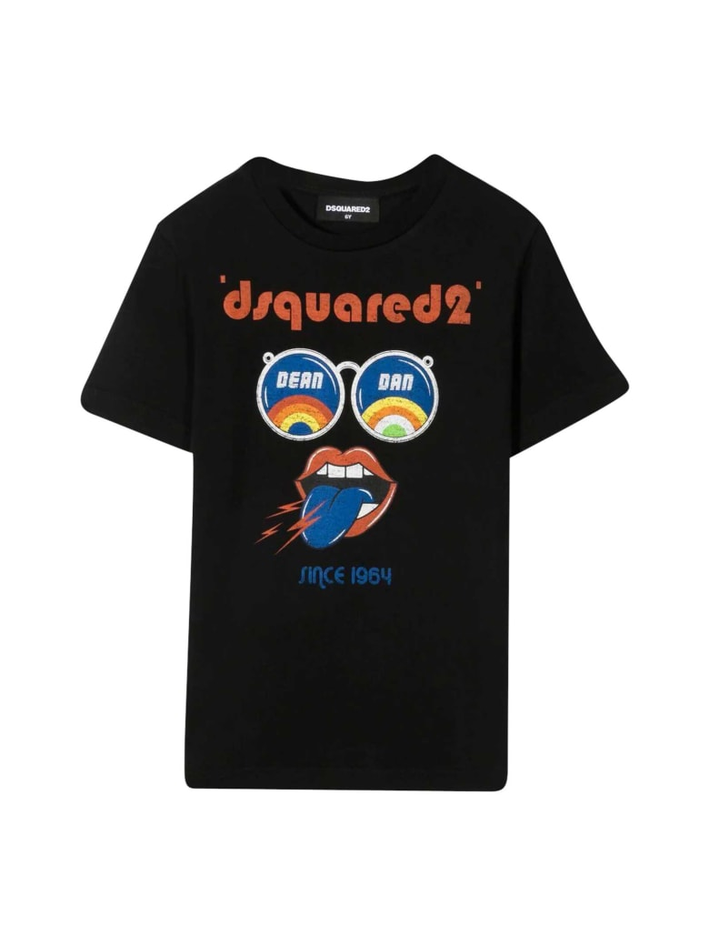 Dsquared2 Black T-shirt - Nero