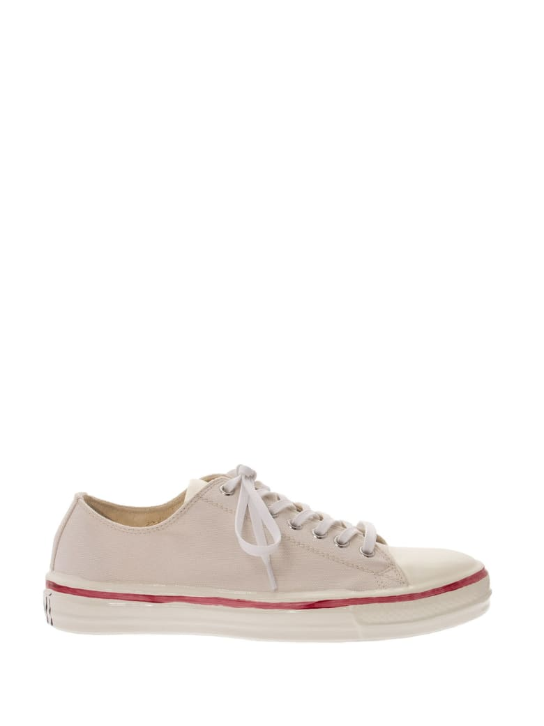 Marni Gooey - Low-top Sneakers In Canvas And Rubber