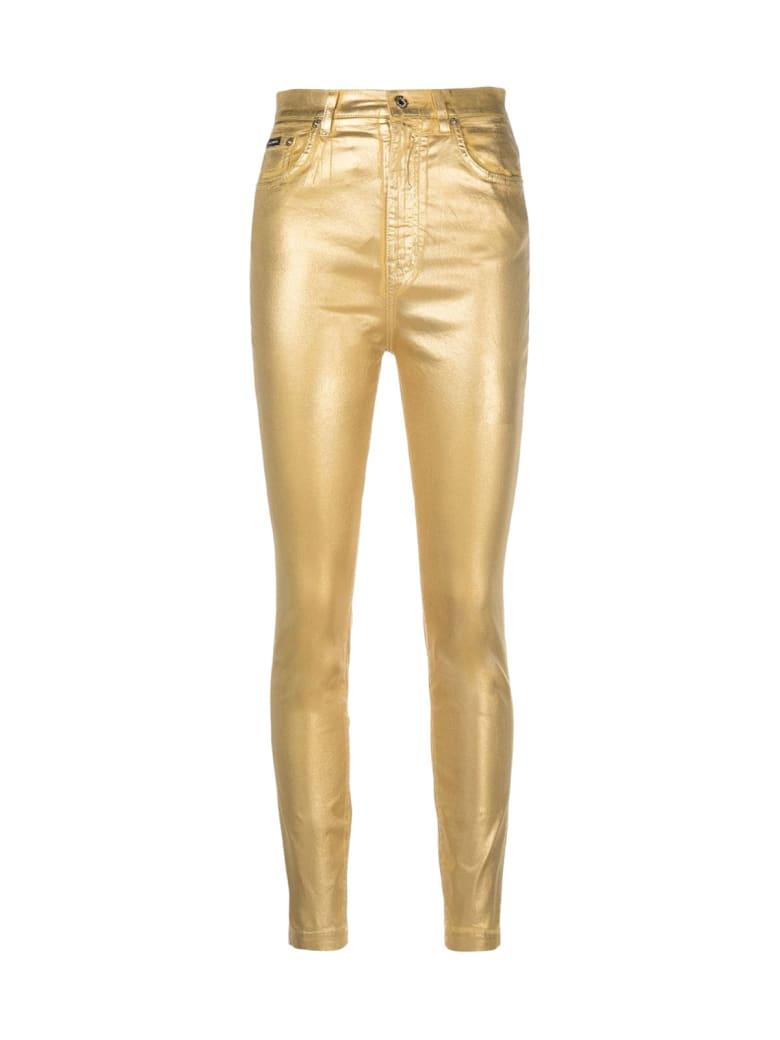 Dolce & Gabbana 5 Pockets - Gold