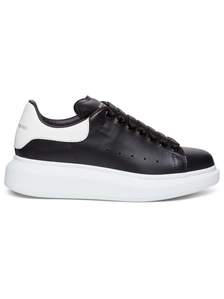 Alexander McQueen Larry Leather Sneakers - Black