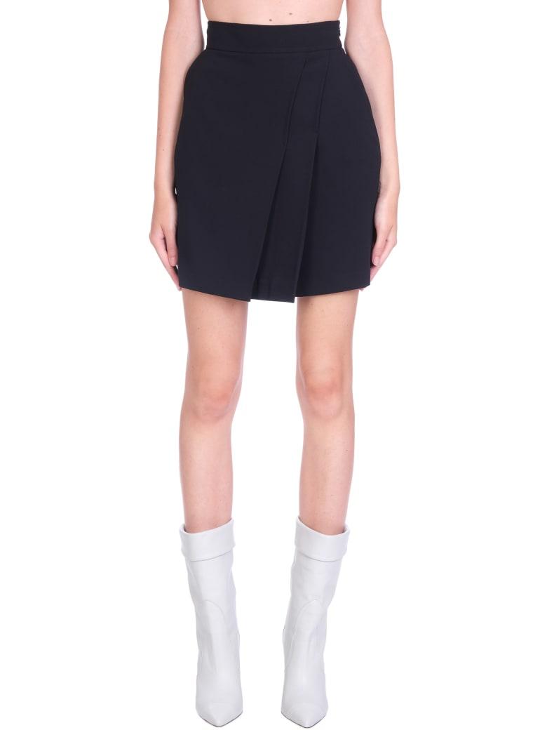 IRO Jozy Skirt In Black Viscose - black