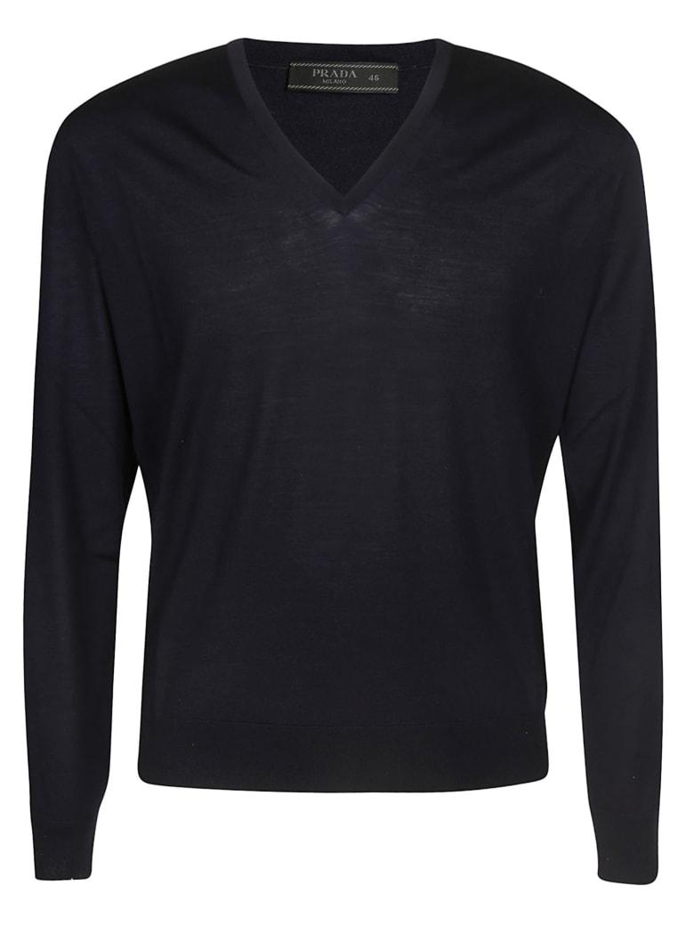 Prada Classic Sweater - Blue