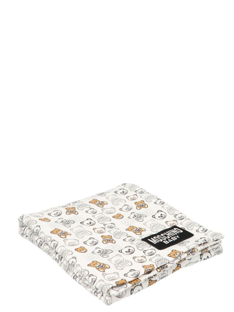 Moschino Baby Blanket - White