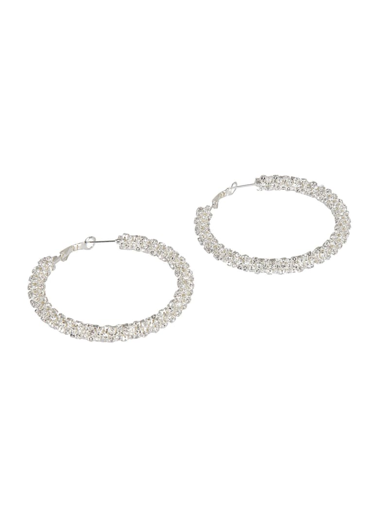 Magda Butrym Apricot Earrings - Silver