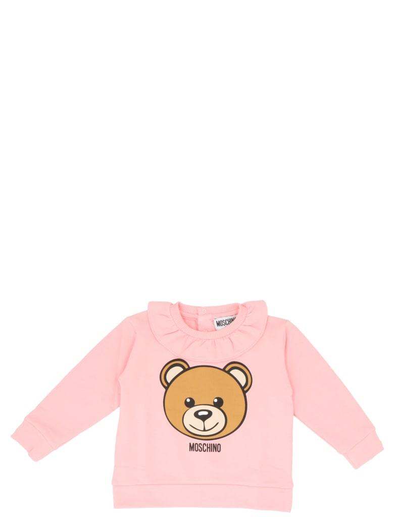 Moschino 'teddy' Sweatshirt - Pink