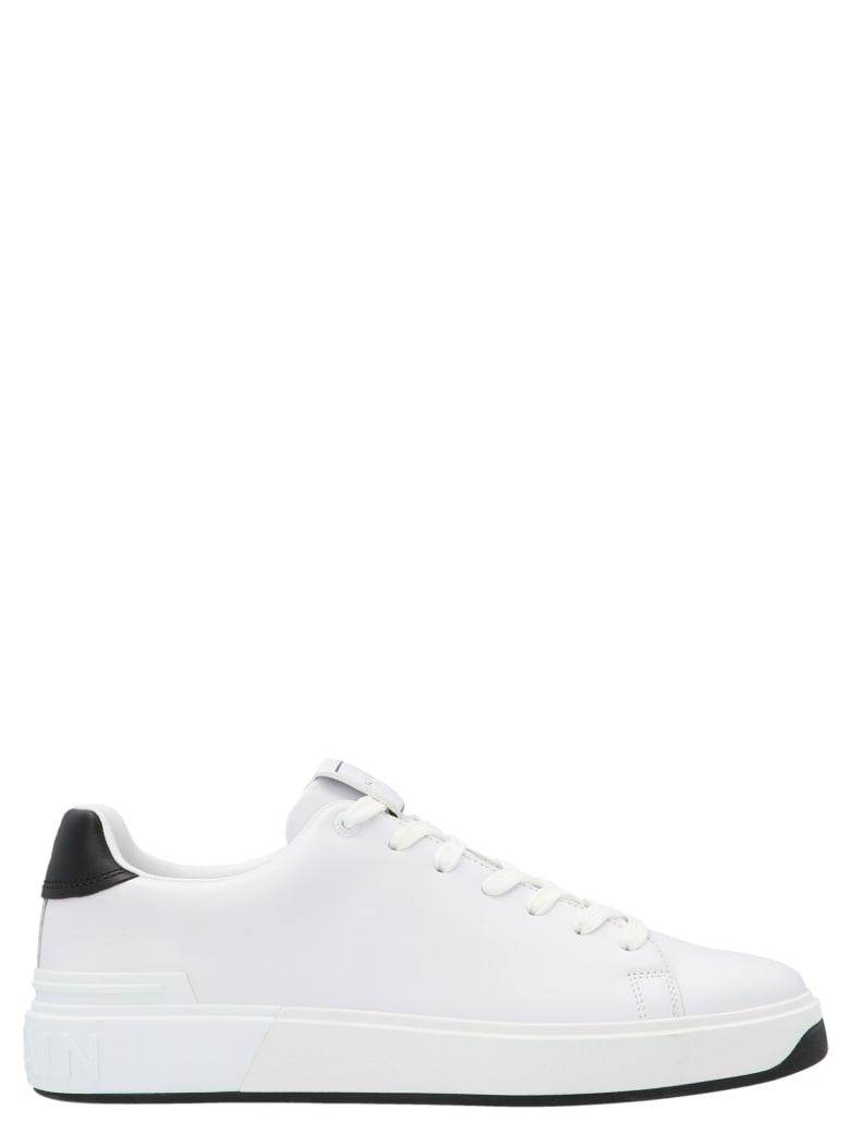 Balmain 'b Court' Shoes - White