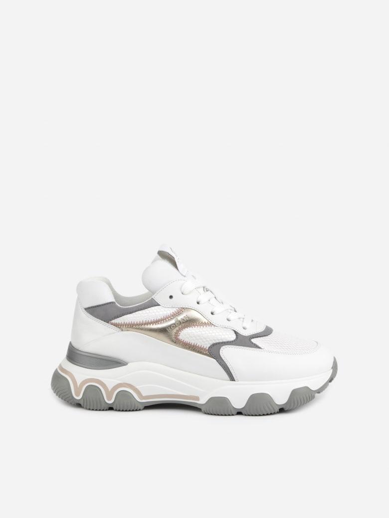 Hogan Hogan Hyperactive Leather Sneaker - White