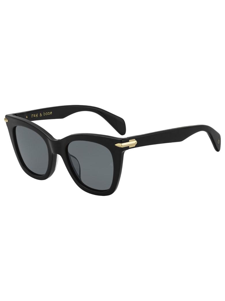 Rag & Bone RNB1029/G/S Sunglasses - /ir Black
