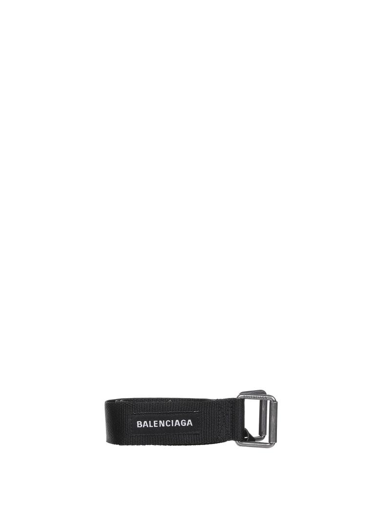 Balenciaga Logo Belt - NERO