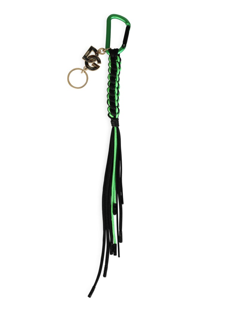 Dolce & Gabbana Green Keychain - Multi