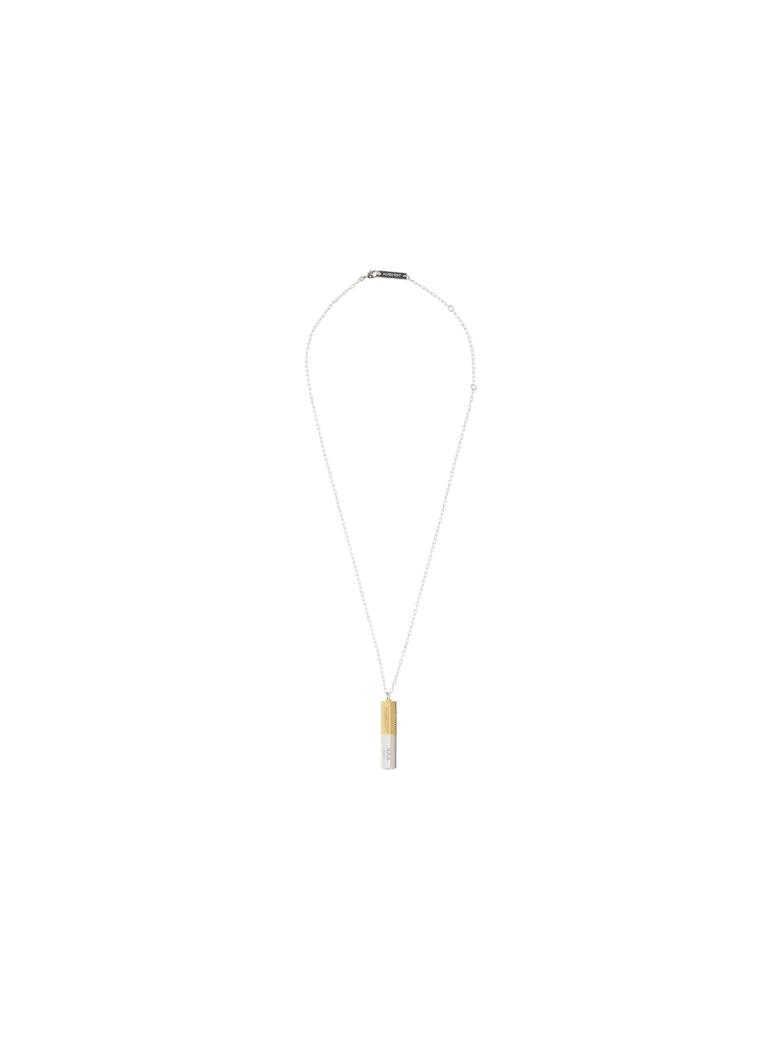 AMBUSH Necklace - Silver gold