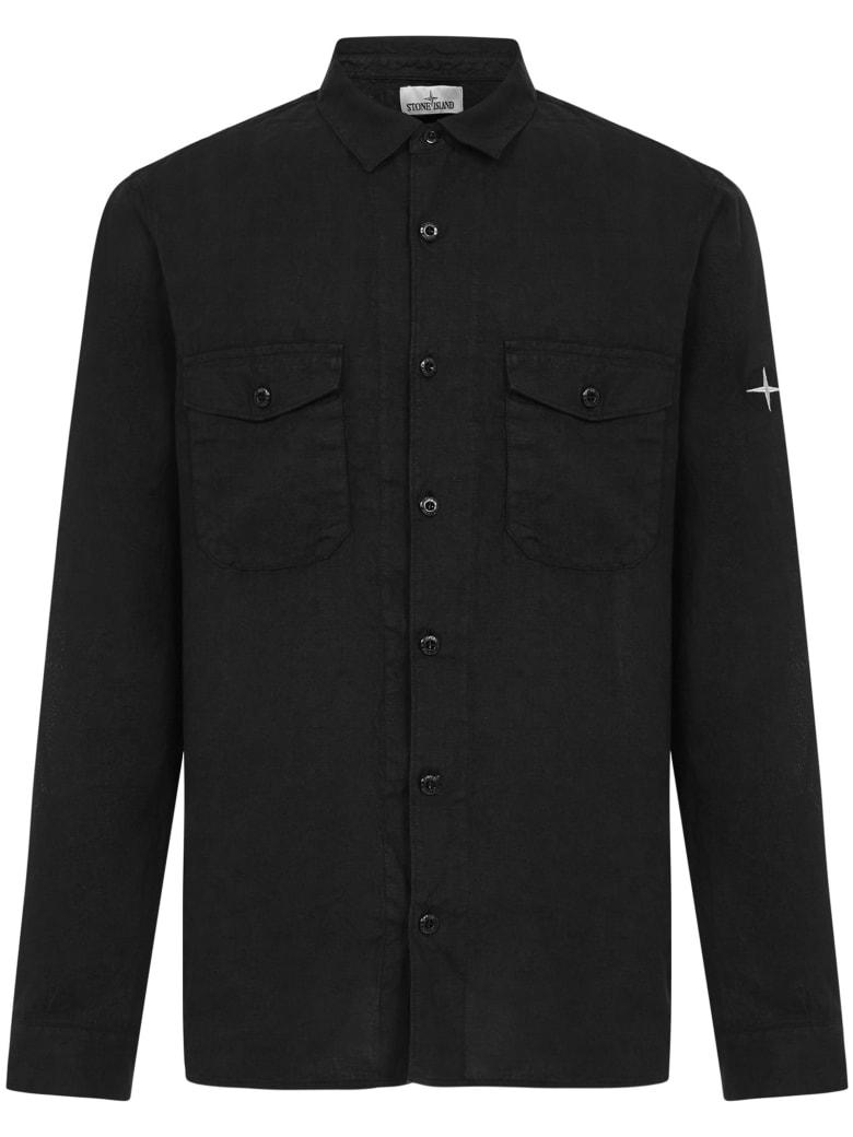 Stone Island 12001 Shirt - Black