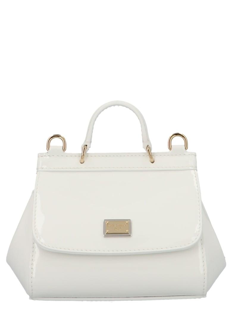 Dolce & Gabbana 'sicily Mini' Bag - White