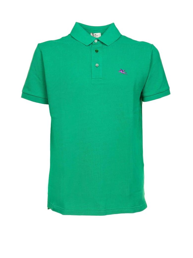 Etro Etro Polo Shirt - VERDE