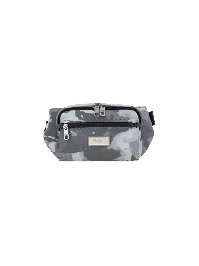 Dolce & Gabbana Belt Bag - White/black