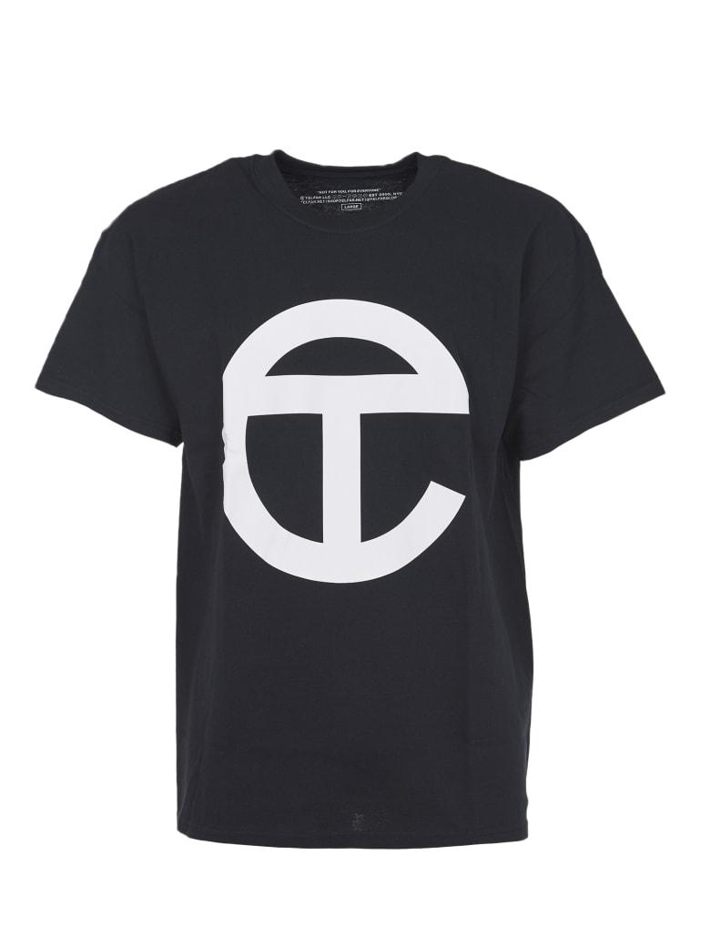 Telfar Black T-shirt With Logo - Black