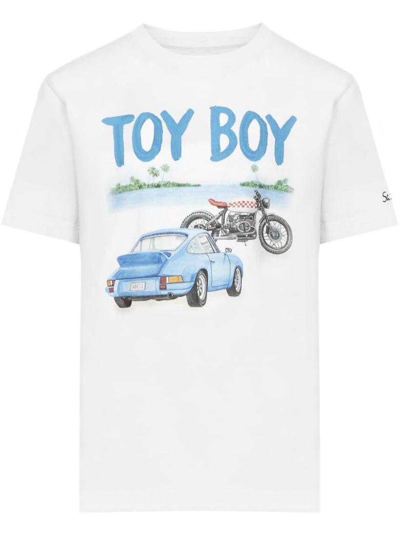 MC2 Saint Barth Toy Boy  T-shirt - White