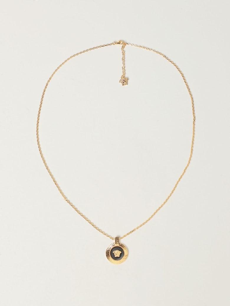 Versace Jewel Versace Necklace With Enamel Medusa Pendant - Gold