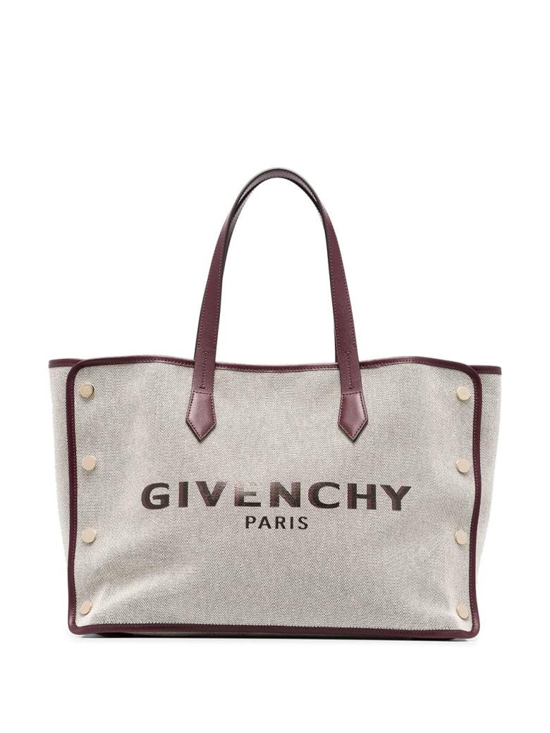 Givenchy Grey And Dark Brown Bond Tote Bag