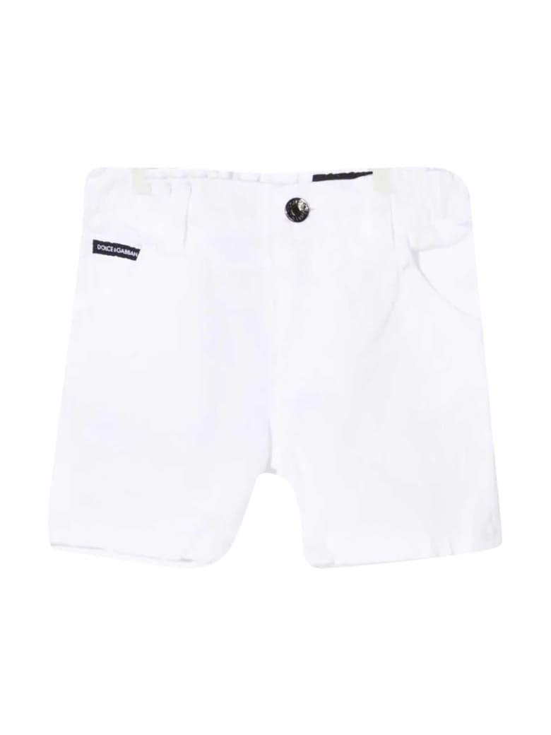 Dolce & Gabbana White Denim Shorts - Bianco