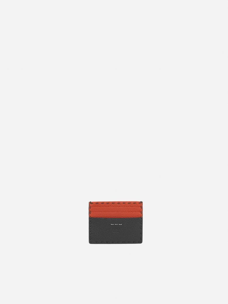 Fendi Multicolor Leather Cardholder - Multicolor