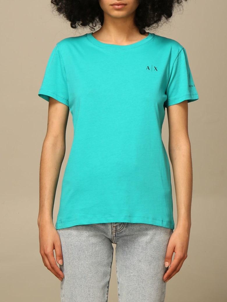 Armani Collezioni Armani Exchange T-shirt Armani Exchange T-shirt With Logo - Green