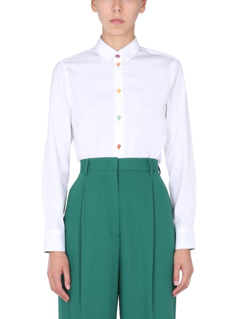 Paul Smith Slim Fit Shirt - BIANCO