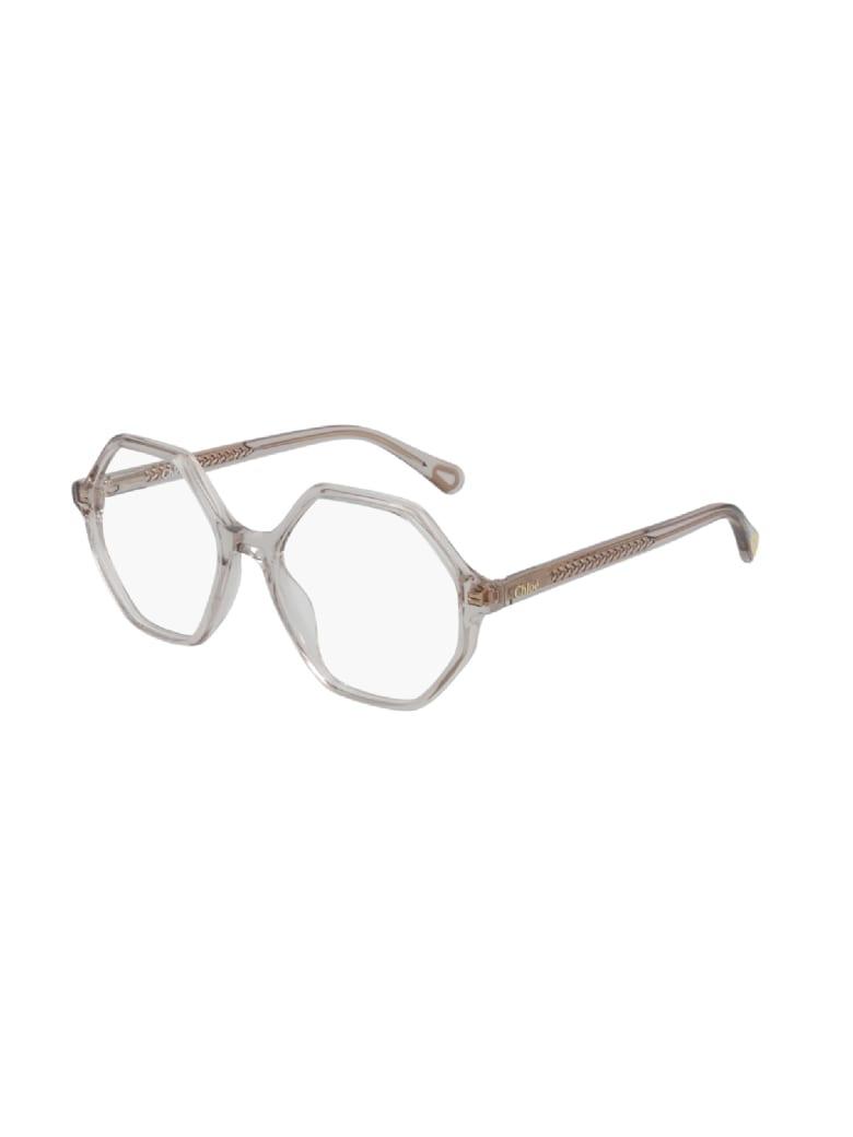 Chloé CC0005O Eyewear - Nude Nude Transparent
