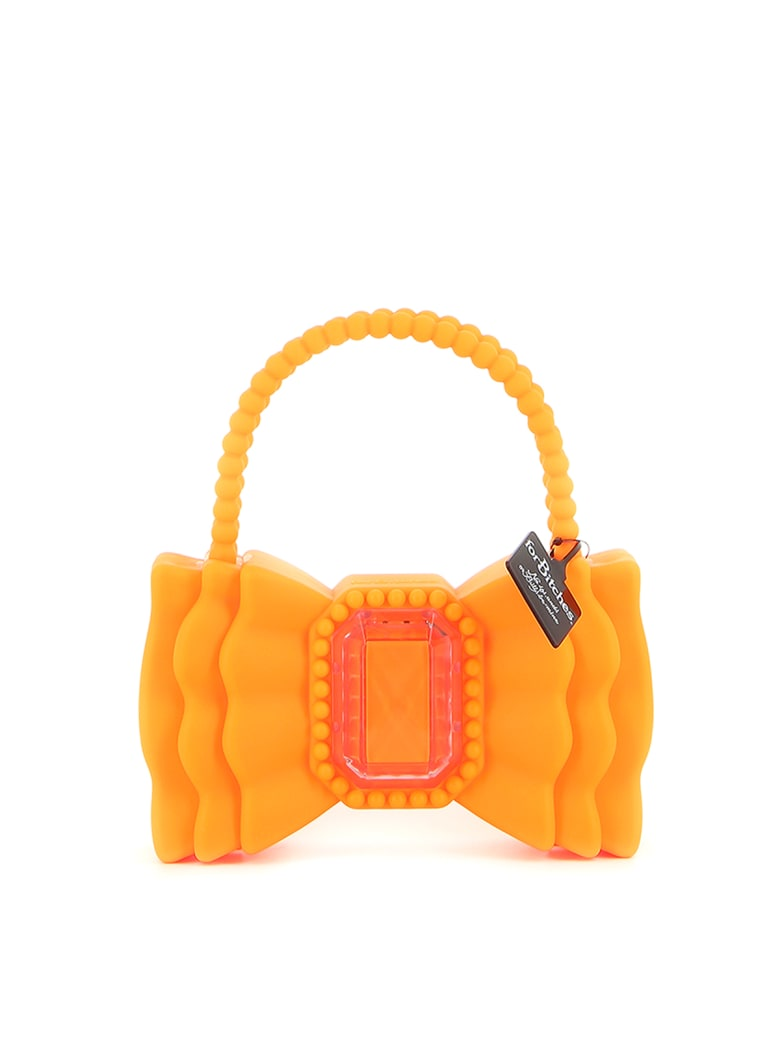 Forbitches Bow Bag 9 Inch - Fluo Orange