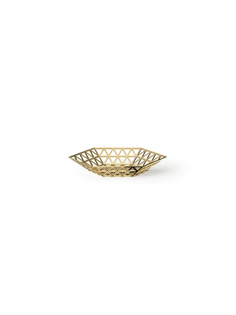 Ghidini 1961 Tip Top - Flat Tray Polished Gold - Polished gold