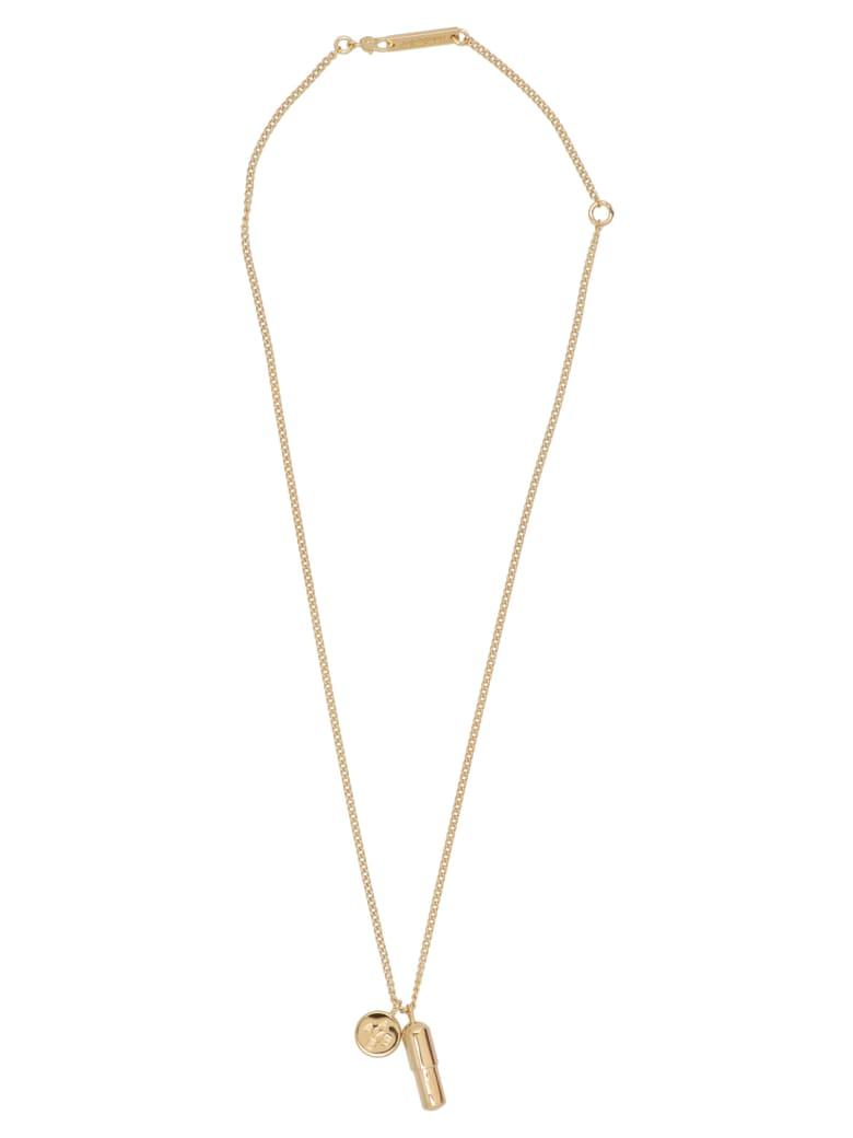 AMBUSH 'pill Charm' Necklace - Gold