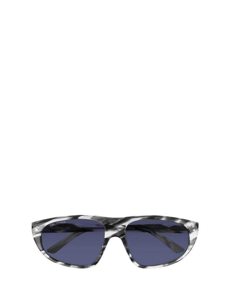 Balenciaga Balenciaga Bb0098s Grey Havana Sunglasses - Grey Havana