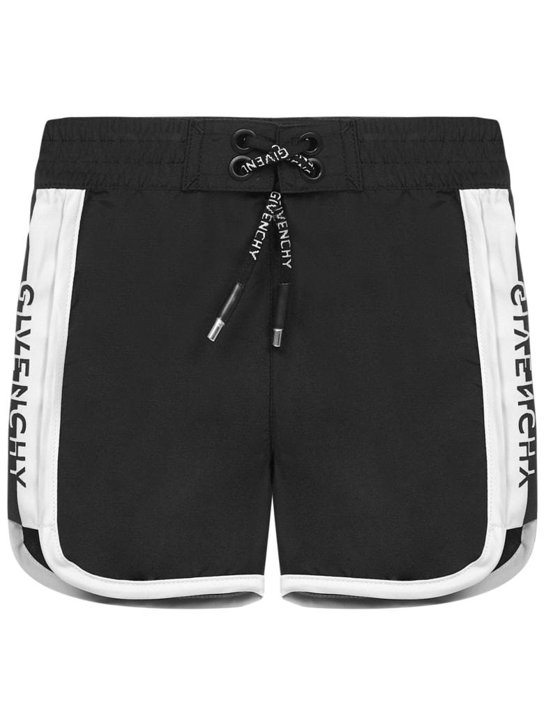 Givenchy Kids Swimsuit - Black